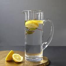 clear crystal jug with stirrer clear crystal jug with stirrer