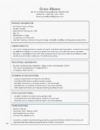 Resume Best Of Sample High School Resume Template Sample High