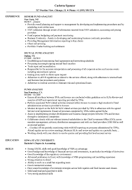 mutual fund accounting fund analyst resume samples velvet jobs