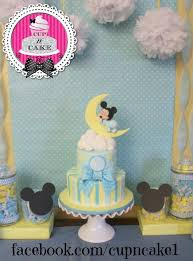 Mickey Mouse Baby Shower Great Ideas For The Mickey Mouse Lover Baby Mickey Baby Shower Cakes