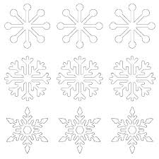 Free Printable Snowflake Template Printable Paper Snowflake