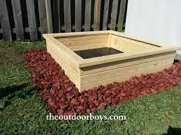 Decorative Stones For Flower Beds Gardening The Outdoor Boys Fill Raised Bed With Soil Of Your