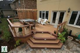 Backyard Deck Designs Plans Unique Decoration