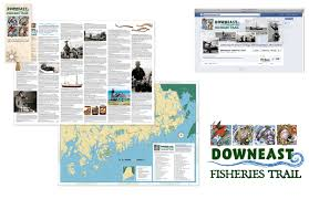 Downeast Tide Chart Maine Sea Grant Projects On Behance