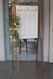 Copper Inspired Wedding Stationery And Styling At Blackwell