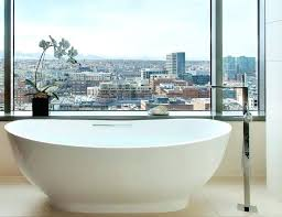 best material for freestanding bathtubs bath tub bathtub oval composite stone slipper bathrooms exciting bathtu