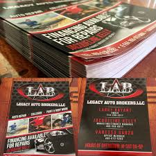 Lone Star Signs in Cedar Hill Texas designed & printed flyers for ...