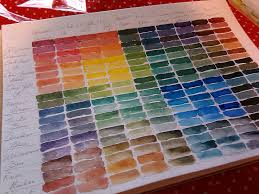 Acrylic Paint Mixing Chart Acrylic Painting With Christy Color Mixing Chart Tutorial