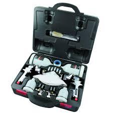 husky hvlp standard gravity feed spray tool kit automotive auto repair