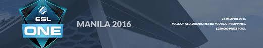 dota 2 event esl one manila 2016 gosugamers