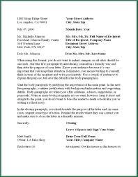 12 Letter Writing Format | applicationsformat.info