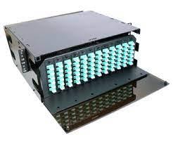 "4U 19"" Rack Mount Fiber Optic Patch Panel, LGX"