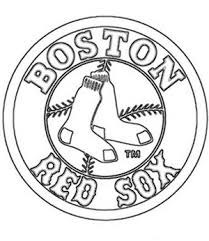 Small Picture Red Sox Coloring Pages Activities for Toddlers Pinterest Red