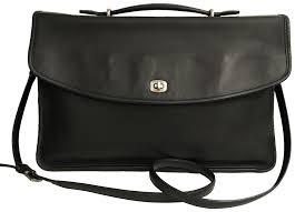 coach briefcase attache portfolio men s vintage laptop bag image 0