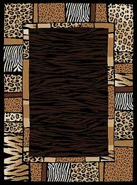 creative home area rugs safari rug 4255 90 black contemporary rugs area rugs by style free at powererusa com