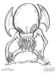 Monsters Coloring Pages Monsters Inc Coloring Pages Free Monster