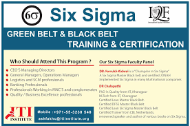 Beautiful Image Of Lean Six Sigma Black Belt Certification