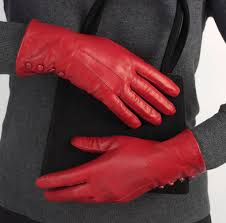 women s silk lined on leather gloves