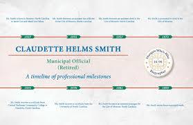 Claudette Helms Smith - Marquis Who's Who Milestones