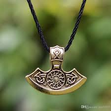 whole viking necklace men black sun thor s hammer mjolnir pendant necklace norse viking jewelry necklace for men gifts for him chain necklace mens