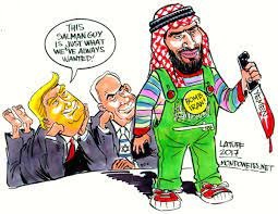 """Mondoweiss on Twitter: """"Worth revisiting in light of recent developments:  Is the Saudi Prince becoming a Zionist? Cartoon by @LatuffCartoons.  https://t.co/0bFB6uNOdI… https://t.co/uksK1RySCt"""""""