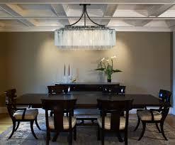living stunning rectangular crystal chandelier dining room 5 lighting white colored font recangular ceiling crystal rectangular
