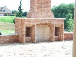 excellent outdoor brick fireplace excellent outdoor rumford gallery