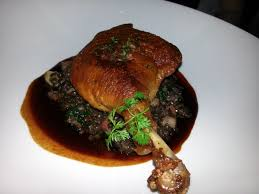 The Ranch Restaurant In Anaheim I Recommend Muscovy Duck Confit