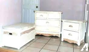 Wicker Bedroom Set Rattan Bedroom Dressers Pine Bedroom Furniture ...