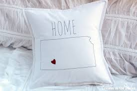 Home Pillow Cover Tutorial