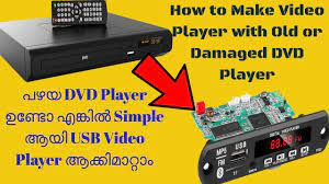 How To Convert Old DVD player into USB Video player with Bluetooth | DIY  mp5 video player