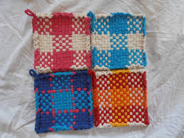 Potholder Loom Patterns Classy Small Serving Great Idea Looming