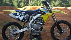 2018 suzuki motocross bikes. delighful suzuki 2018 suzuki rmz250  dirt bike magazine throughout suzuki motocross bikes n