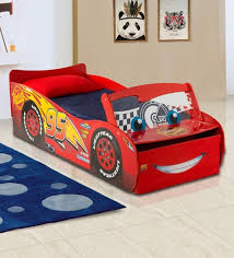 Disney Cars Lightning Mcqueen Toddler Bed With Lightup Windscreen In Multi Color By Cot Candy