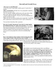 images about Beowulf Lesson Plans and Activities for Success