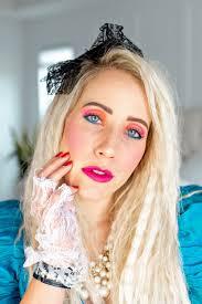 80 s makeup tutorial