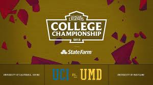 Umd Game Design Uc Irvine Vs Maryland Semifinals Game 2 2018 College Championship Uci Vs Umd
