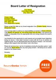 How To Write A Quitting Letter Resignation Letter Samples Free Downloadable Letters