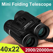 <b>40x22</b> Compact Zoom <b>Binoculars</b> Long Range 20000M Folding HD ...
