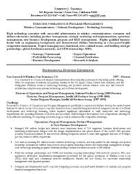 Product Management Resume Samples Best Of Retail Management Resume Examples And Samples Business Operations