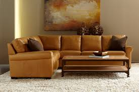 Full Size of Sofa:extraordinary American Made Sofa Langston Leather Italian  Brentwood Tan Front View ...