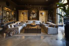 ... Brown Rectangle Low Modern Wood Restoration Hardware Coffee Tables  Ideas As Living Room Sets ...