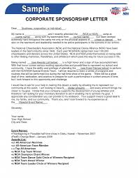 Proposal Letter For Sponsorship Sample For Event Petty Cash