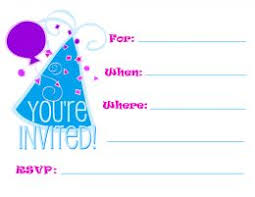 Print Out Birthday Invitations Free Printable Birthday Party Invitations for Adults and Kids Free 94