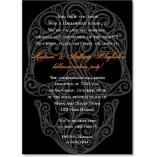 Halloween Invitations Cards Skull Invitations Halloween Themed Cards Invitation Box