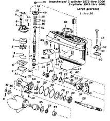 need help evinrude johnson outboard parts drawing 1975 2006