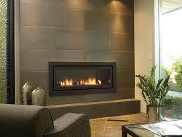 dark tiled fireplace wall