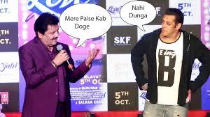 Salman khan and Udit Narayan Making Fun of Each Other salman Best Moment -  YouTube