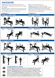 chest workout health and fitness