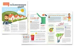 11x17 Newspaper Template 11x17 Newsletter Templates Designs 11x17 Newsletters